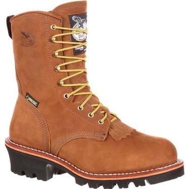 Georgia Waterproof Steel Toe Logger Work Boots