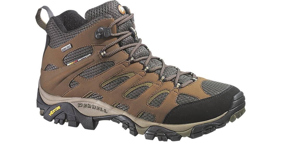 92c660c5 Merrell Men's Moab Mid Gore-Tex Boot J87701 - Whitetail Country ...