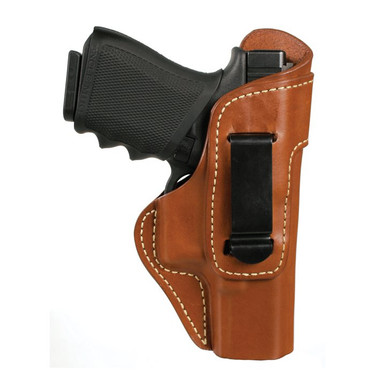 Blackhawk 421402BN-R Leather Inside the Pants Holster with Clip