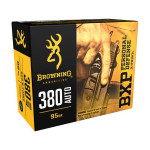 Browning B191703801 BXP Personal Defense 380 Acp Pistol Ammunition