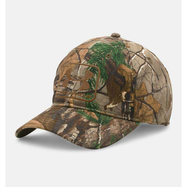 ad4804ace93 Under Armour 1284446-946 Camo Stretch Fit Cap. Loading zoom
