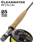 "Orvis Clearwater 4-weight 8'6"" Fly Rod -- 4Y00-5151"