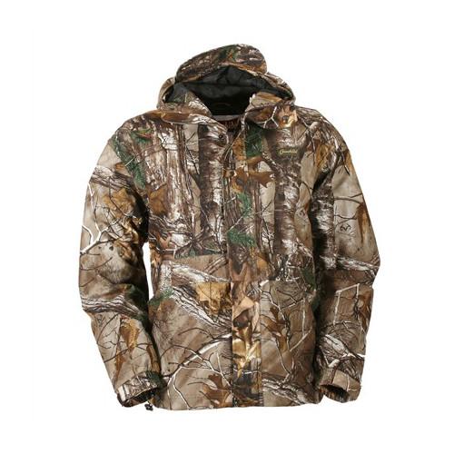 2a50e3f4f9f77 Gamehide Men's Deep Camp Realtree Waterproof Rain Shell Jacket