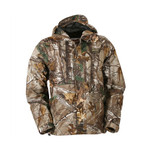 Gamehide Men's Deep Camp Realtree Waterproof Rain Shell Jacket