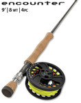 Orvis Encounter 8-weight 9' Fly Rod Outfit -- SI8P45-53-63