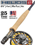 "Orvis Helios 2 4-weight 8'6"" Fly Rod—Mid Flex -- SI7A74-51-57"