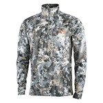 Sitka Heavyweight Zip Tee 70017-EV  • GORE™ OPTIFADE™ Concealment Elevated II is designed for whitetail hunters in an elevated position. • Weight: 12.55 oz. • Fabric: Heavyweight Comfort Stretch Fleece (93% Polyester/7% Elastane). • Polygiene® Odor Control Technology safely neutralizes odor caused from sweat.