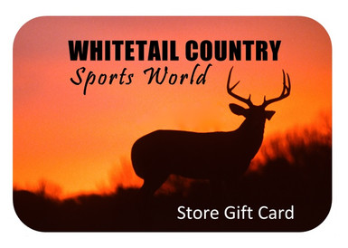 Whitetail Country Sports World Gift card