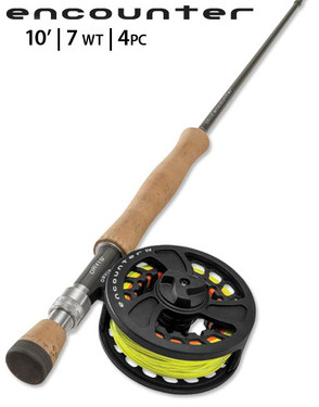 Orvis Encounter 7 wt 10' FLY ROD OUTFIT 2NSS-5363