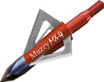 Muzzy MX-4 100Gr 4 Blade Screw in Broadhead - 3 Pack - 209-MX4-3