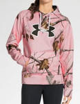 Under Armour Women's UA Big Logo Camo Hoodie - 1247095