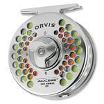 Orvis Access, Mid-Arbor III Reel, Titanium - 3R46-6109