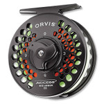 Orvis Access, Mid-Arbor III Reel, Black Nickel - 3R46-6124