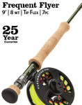 Orvis Clearwater Frequent Flyer, 8-weight, 9', 7 piece, Fly Rod - 8P1G-5165