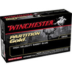 "Winchester Sabots 12 ga. 2-3/4"" 385 gr Partition Gold, 5 Rounds/Box - SSP12"
