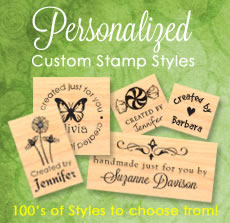 Custom Rubber Stamps Custom Stamp Place