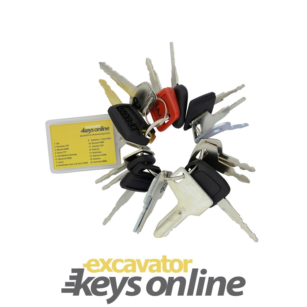 Ultimate Key Master Set, Hitachi Excavator Key, Volvo