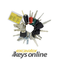 Master Excavator key set