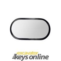"Kobelco Excavator Mirror (6.2"" x 12"" ) 2456R351"