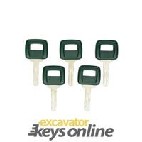 Volvo Laser Key (sets of 5)