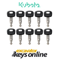Kubota 459A Key (set of 10)