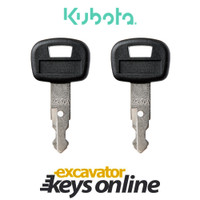 Kubota 459A Key (set of 2)