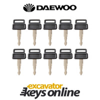 Daewoo D300 Master Key (set of 10)