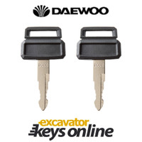 Daewoo D300 Master Key (set of 2)