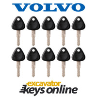 Volvo 777 Key (set of 10)
