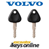 Volvo 777 Key (set of 2)