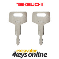 Takeuchi T806 Key (set of 2)