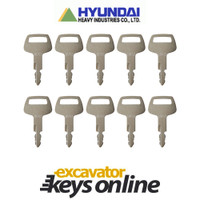Hyundai HD62 Key (set of 10)
