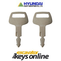 Hyundai HD62 Key (set of 2)