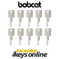 Bobcat Nd Case Skid-Steer D250 Key (set of 10)