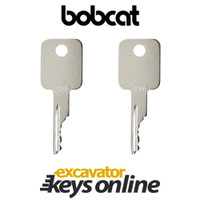Bobcat and Case Skid-Steer D250 Key (set of 2)