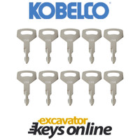 Kobelco K250 Key (set of 10)
