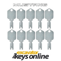 Mustang 166 Key (set of 10)