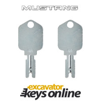 Mustang 166 Key (set of 2)