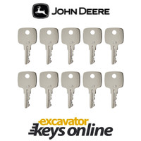 John Deere JD Key (set of 10)