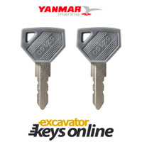 2 New Yanmar 52160 Master Key