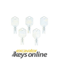Mustang key 166(Sets of 5)
