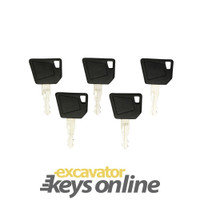 Bomag,JCB,Wacker Neuson, Dynapac Key 14607 (Sets of 5)