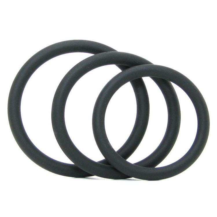 Doc Johnson Optimale C-Ring Set (Thin)