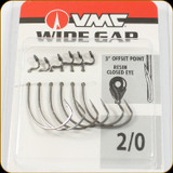 VMC WG#2/0BNPP Wide Gap 2/0Sz Black Nickel 6Pc