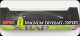 "Rapala XRMAG20PM X-Rap Magnum 5-1/2"" 1-5/8oz Purple Mackerel"