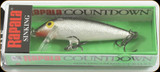 "Rapala CD05S Countdown 2"" 3/16oz Sil"