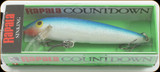 "Rapala CD09B Countdown 3-1/2"" 7/16oz Blue"
