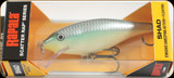 "Rapala SCRS07BBH Scatter Rap Shad 2-3/4"" 1/4oz Blue Back Herring"