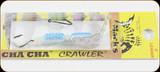 Macks Lure 60040 Cha Cha Crawler Lg #4 Transp-Sil Tiger/Blk-Sil