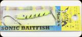Macks Lure 30022 Sonic Baitfish 1/4oz Glow Cht